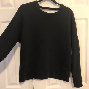 Black Women's Nike Dri-Fit Crew-neck Sweatshirt